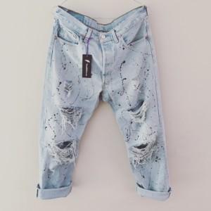Jeans Donna Austin Painted
