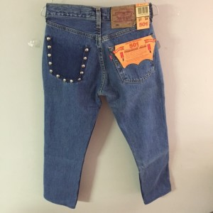 jeans chic studs
